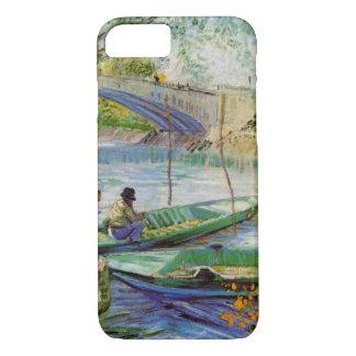 Pesca en la primavera, bella arte de Van Gogh del Funda iPhone 7