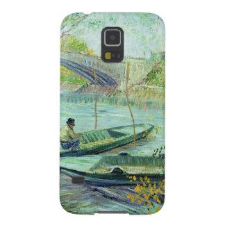 Pesca en la primavera. Pont de Clichy, 1887 Carcasa Galaxy S5