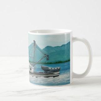 Pesca en la taza de Alaska