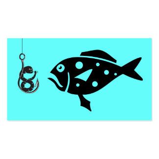 Pesca en mar profunda Charters_Grouper y, gusano d Plantillas De Tarjetas Personales