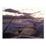 Pesca en mar profunda postales