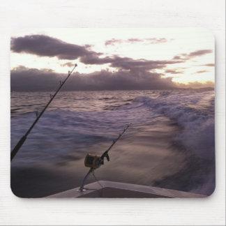 Pesca en mar profunda tapete de raton