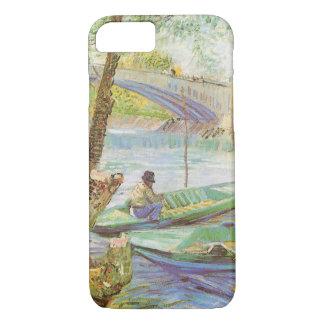 Pesca en primavera de Vincent van Gogh Funda iPhone 7