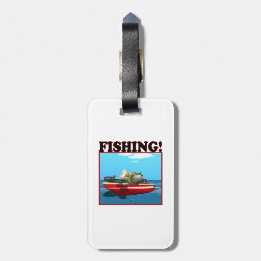 Pesca Etiqueta De Maleta