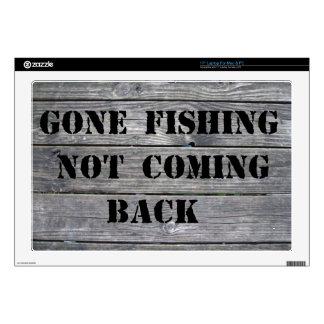 Pesca ida 43,2cm portátil calcomanía