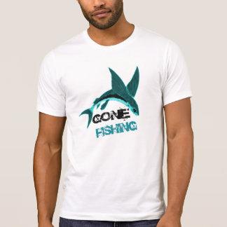 Pesca ida, diseño de encargo de la camiseta remeras