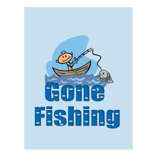 Pesca ida postales