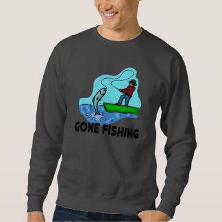 Pesca ida sudadera