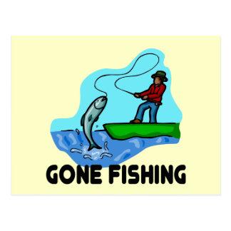 Pesca ida tarjetas postales