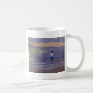 Pesca ida tazas de café