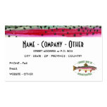 Pesca modificada para requisitos particulares de l plantillas de tarjetas personales