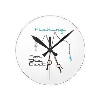 Pesca para el mejor reloj de pared