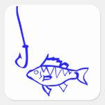 Pesca Pegatina