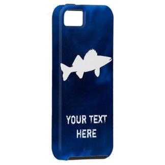 Pesca personalizada de los leucomas funda para iPhone 5 tough