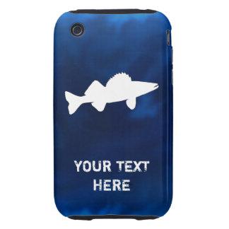 Pesca personalizada de los leucomas tough iPhone 3 fundas