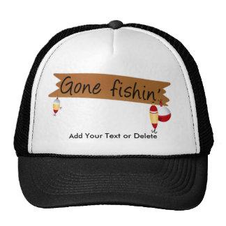¡Pesca - pesca ida! Gorros