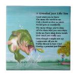 Pesca - poema del Grandad Azulejos Ceramicos