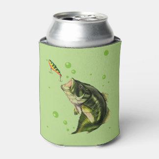 Pesca que va enfriador de latas