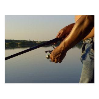 Pesca Tarjeta Postal