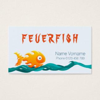 pesca tarjetas de visita