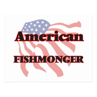 Pescadero americano tarjeta postal