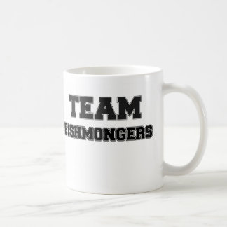 Pescaderos del equipo taza de café