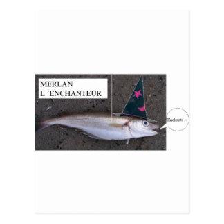 Pescadilla el Mago (Francois Ville) Tarjetas Postales