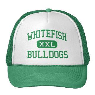 Pescado blanco - dogos - alto - pescado blanco Mon Gorros Bordados