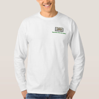 pescado-etiqueta-pegatina-pequeño-boca-bajo, camisas