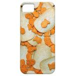 Pescado frito con patatas fritas iPhone 5 protector