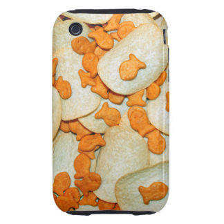 Pescado frito con patatas fritas iPhone 3 tough coberturas