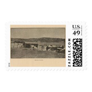 Pescado houses stamp