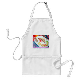 Pescado - Past Tense Adult Apron