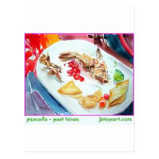 Pescado - Past Tense Postcard