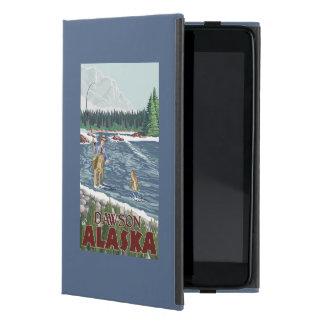 Pescador de la mosca - Dawson, Alaska iPad Mini Carcasas