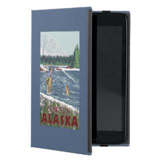 Pescador de la mosca - Dawson, Alaska iPad Mini Funda