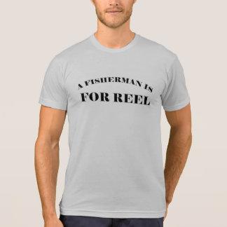 Pescador de la pesca para la camiseta divertida