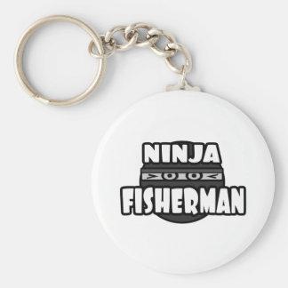 Pescador de Ninja Llaveros Personalizados
