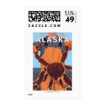 Pescador de rey cangrejo - Cordova, Alaska Sellos
