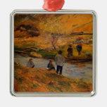 Pescador del bretón de Paul Gauguin- Ornamente De Reyes