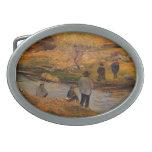 Pescador del bretón de Paul Gauguin- Hebilla Cinturón