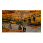Pescador del bretón de Paul Gauguin- Plantilla De Tarjeta Personal