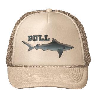 Pescador del tiburón de Bull Gorras