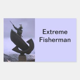 Pescador extremo rectangular altavoces