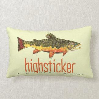 Pescador Highsticking de la mosca