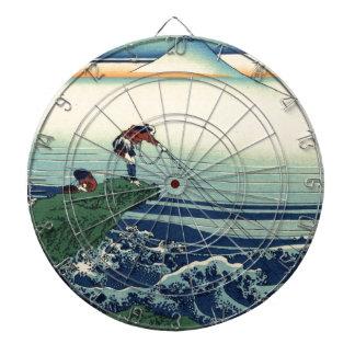 Pescador japonés de Kajikazawa del arte del