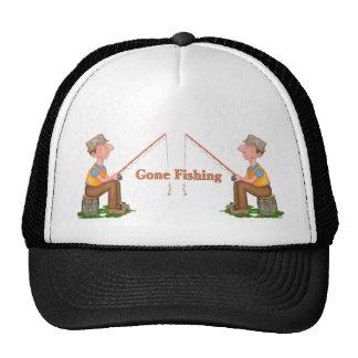 Pescador pesquero ido gorro de camionero