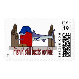 Pescador y peces espadas del HairBall Envio