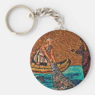 Pescadores de hombres llavero redondo tipo pin