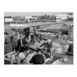 Pescadores de Key West, los años 30 Postal